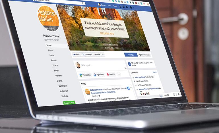Pedoman Harian Facebook
